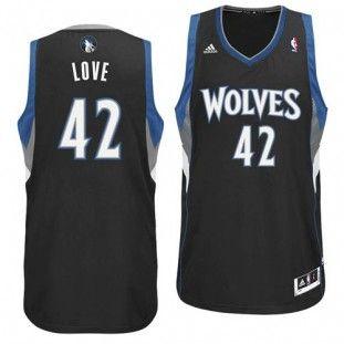 a24a51f88d8 ... best minnesota timberwolves kevin love 42 adidas swingman nba jersey  black eb3b2 5bf2b