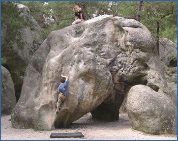 L Elephant Boulder At Fontainebleau Kinda Wild
