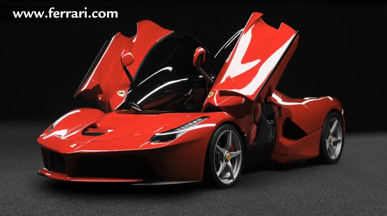 le ferrari   Related Items Ferrari geneve 2013 laferrari motor sound son moteur V12 ...