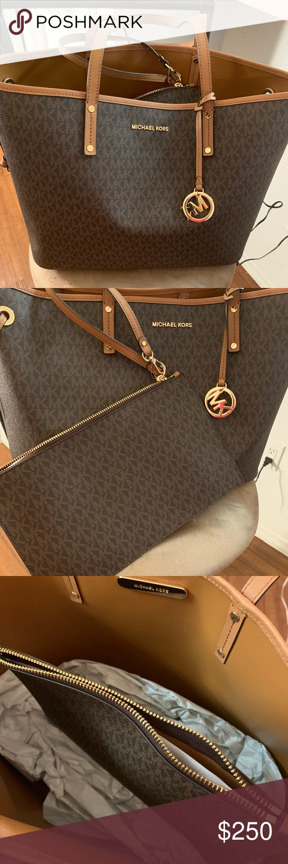 Brand New Michael Kors Bag With 1 Year