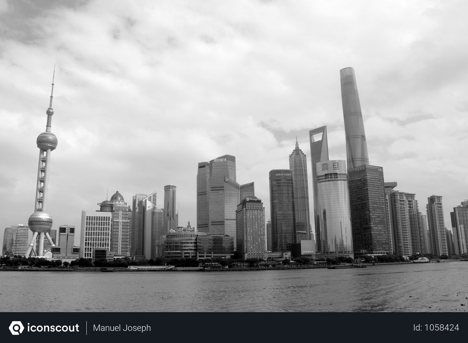 Free Black And White City View Of Buildings Photo Download In Png Jpg Format City Sky Black And White City Shanghai City