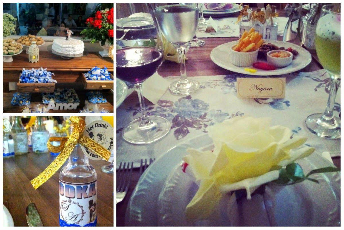 Apimentada: Acessórios, Make  e Decoração - Jantar de Casament...