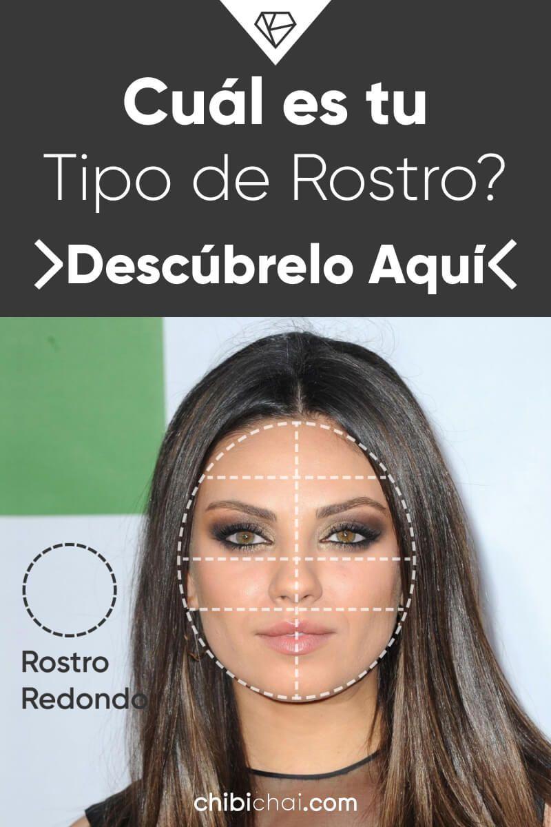maquillaje para adelgazar el rostro redondo corte de pelo