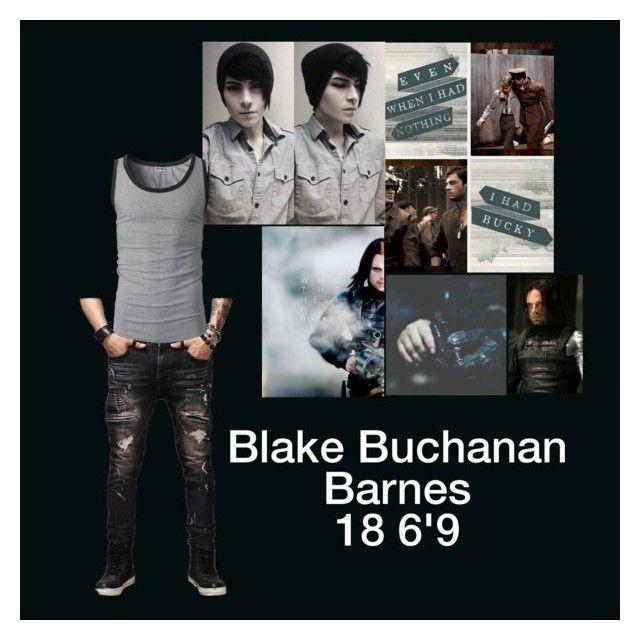 """Blake Buchanan Barnes"" by superherofan ❤ liked on Polyvore"