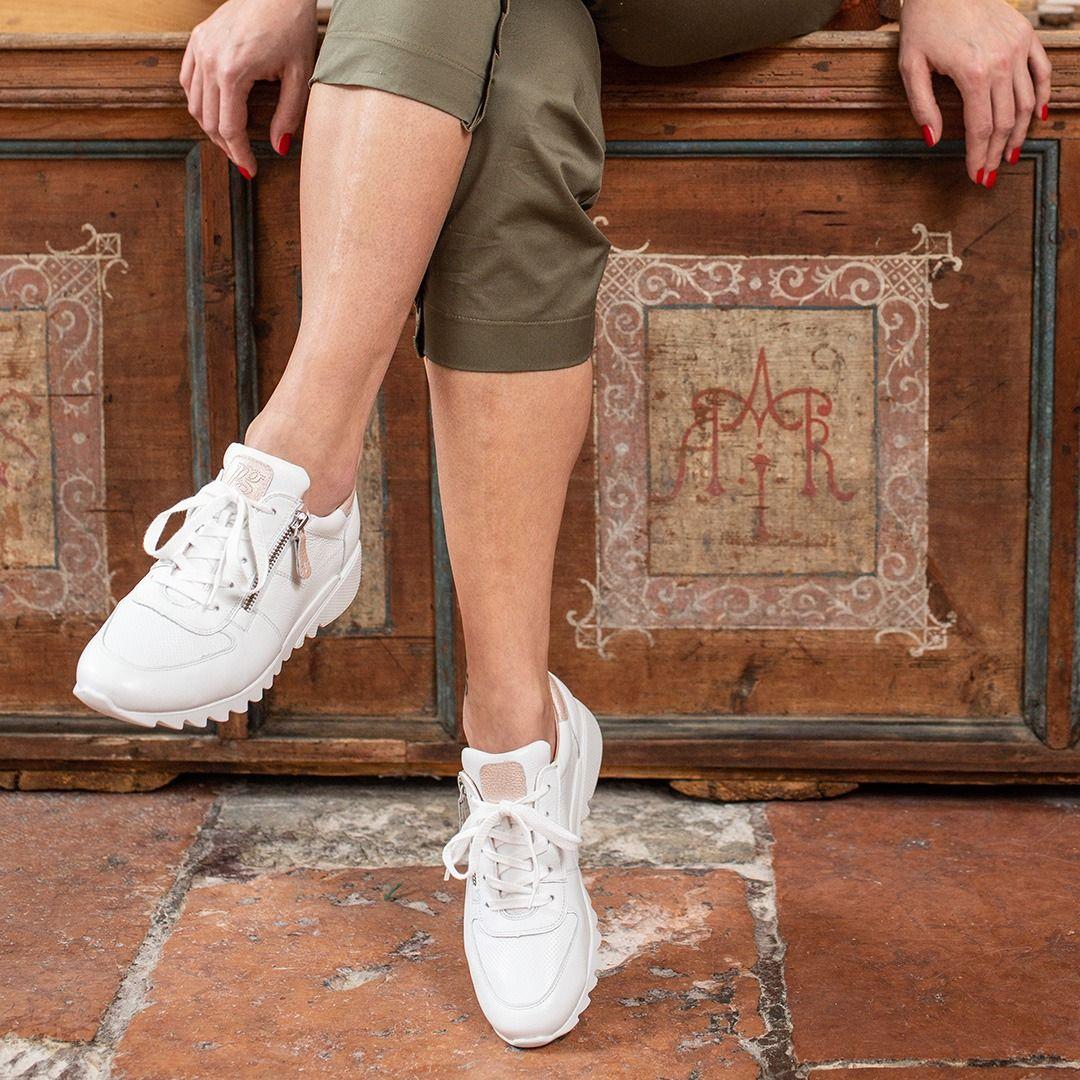 Relax Sneaker In White By Paul Green Paul Green Schuhe Sneaker Paul Green