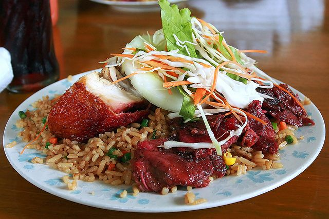 Guyana fried rice pork and rice guyanese style chinese food photo kennard pillay forumfinder Images