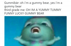 One Of My Favorite New Gummy Bear Song Memes Gummibar Gummy Bear Song Bear Songs Song Memes