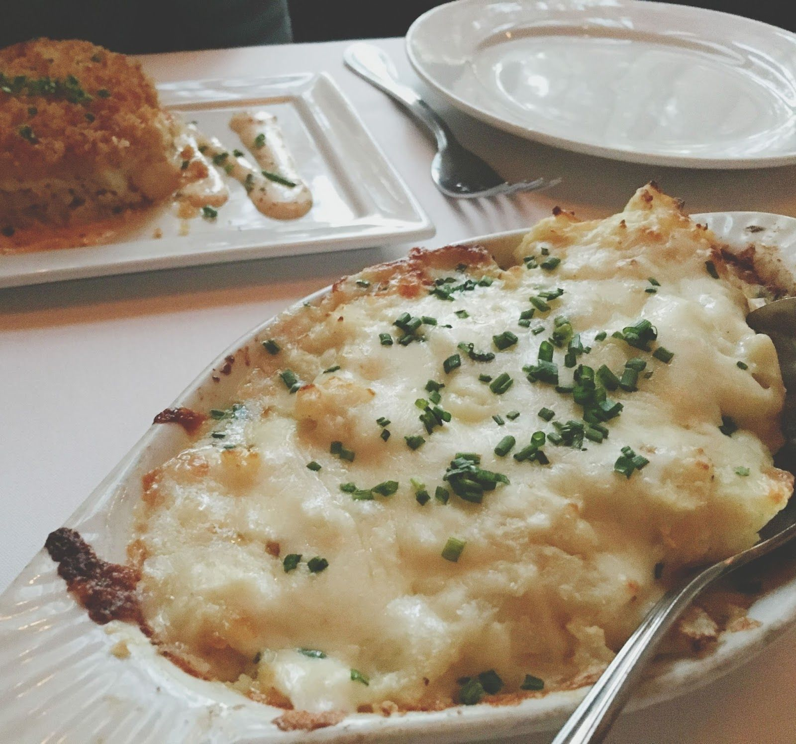 au gratin potatoes at Eddie V\'s | Adventures in a New(ish) City ...