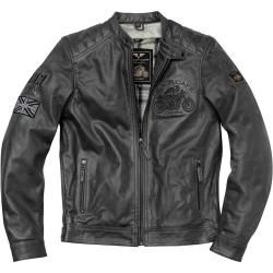 Photo of Black-Cafe London Bangkok motorcycle leather jacket black 60