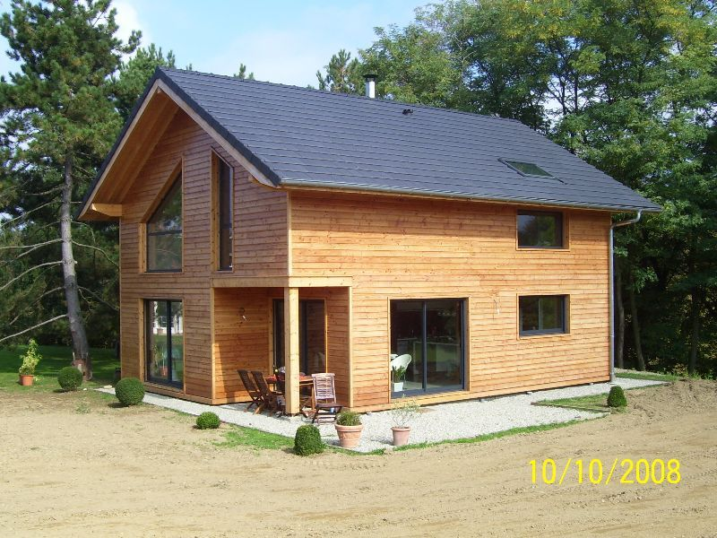 Charpenterie de l 39 ours co constructeur haute savoie for Extension maison 74