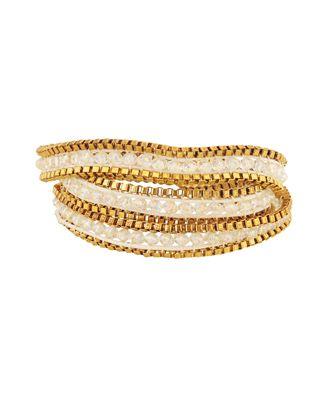 Leatherette Chain Bracelet   FOREVER21 - 1000019704
