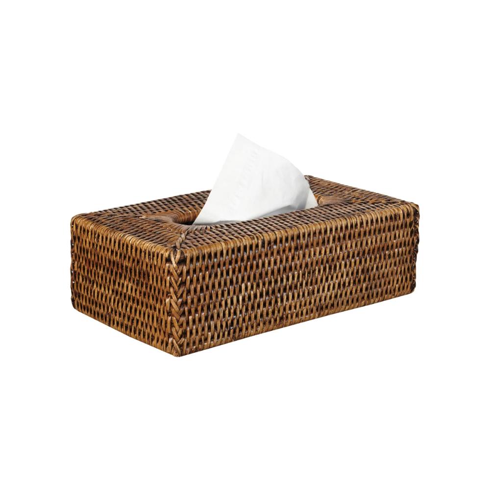 Rattan Hand Woven Tissue Box Cover In 2021 Tissue Box Covers Tissue Boxes Covered Boxes