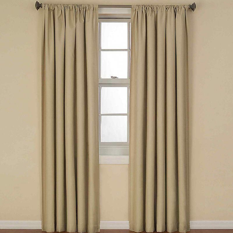 Eclipse Kendall Rod Pocket Thermal Blackout Curtain Panel