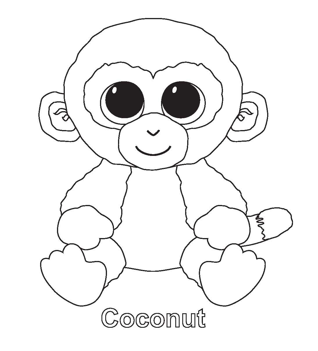 beanie boo coloring pages photo - 9  Unicorn coloring pages, Cool