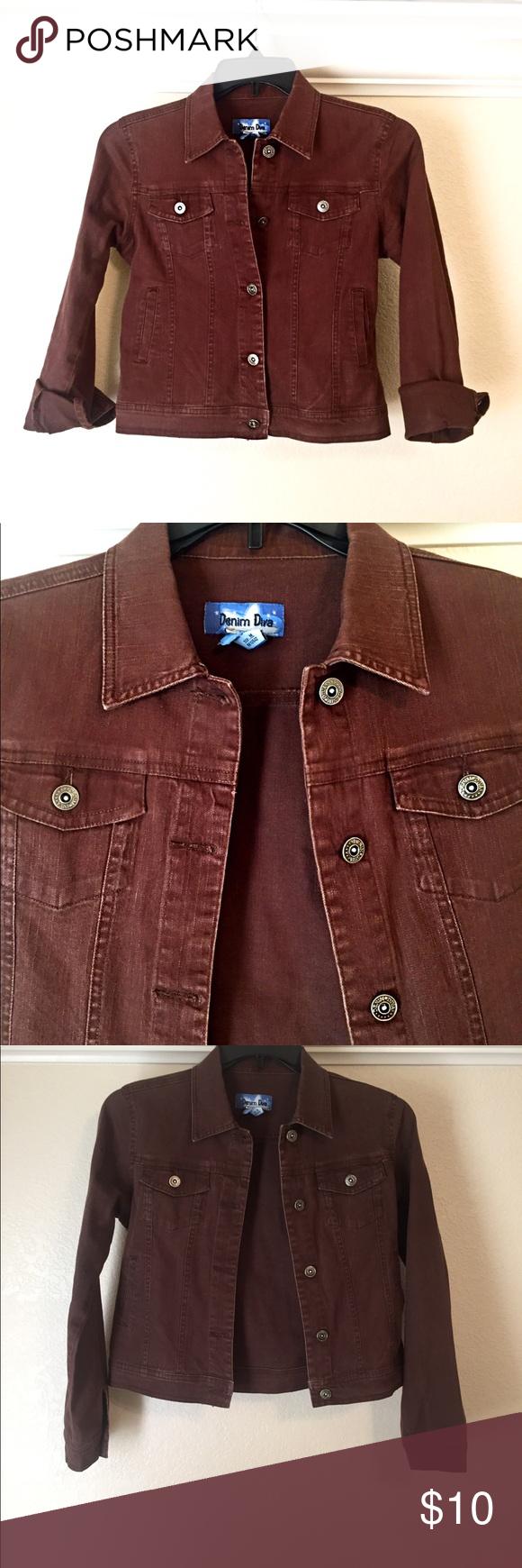 Brown Denim Jacket Brown Denim Jacket Jackets Denim Jacket [ 1740 x 580 Pixel ]