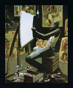 John Holyfield Paintings | The Artist Art Print - John Holyfield