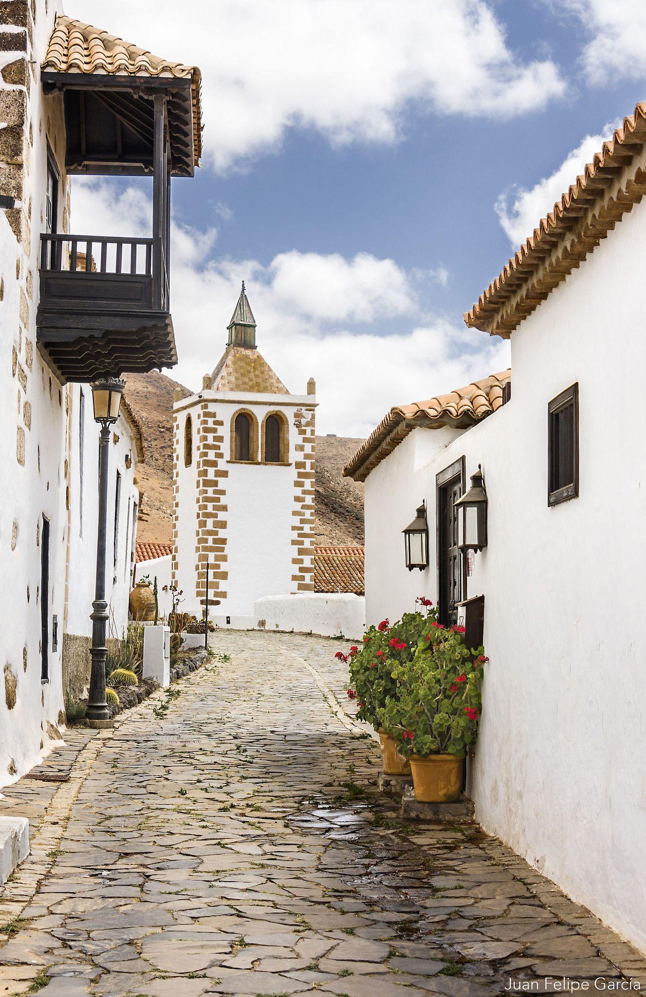 Calle En Betancuria Canary Islands Spain Canary Islands Fuerteventura
