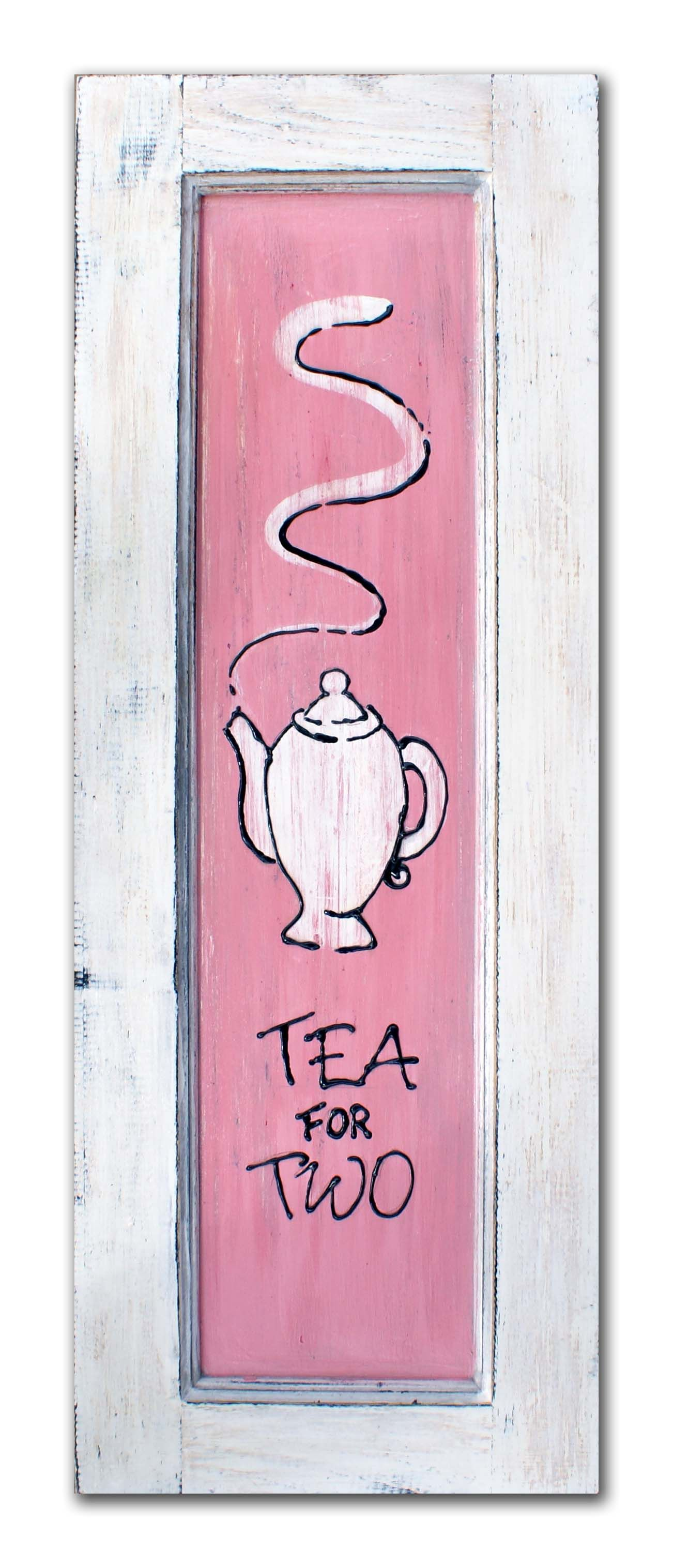 Quotes About Tea And Friendship Tea For Two Hand Painted Rustic Sign Made From Recycled