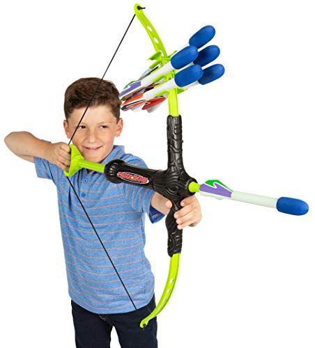 Marky Sparky Faux Bow 3  Shoots Over 100 Feet  Foam Bow  Arrow Archery Set