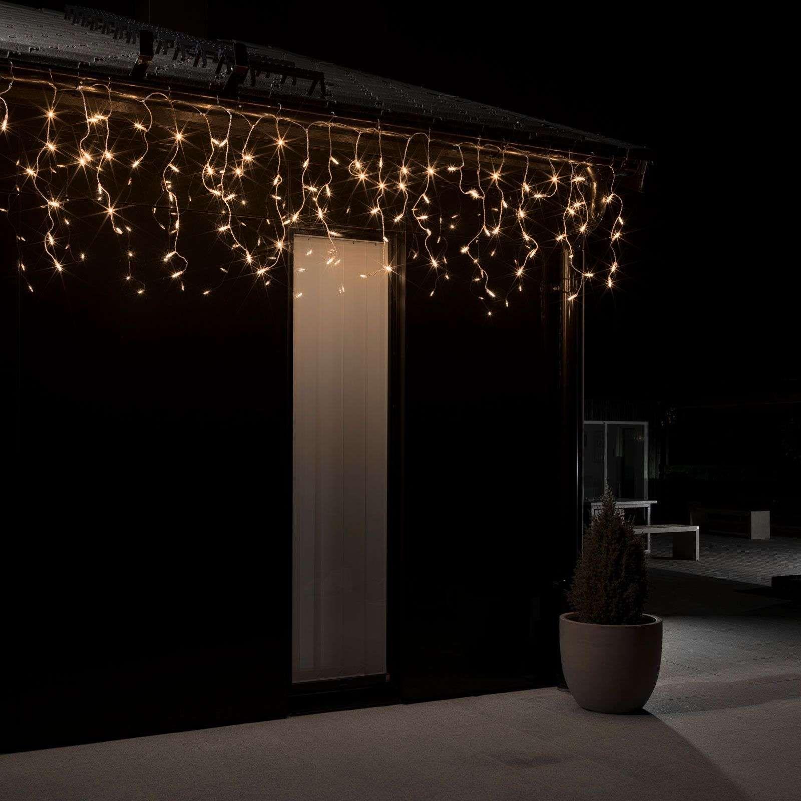 100 Fantastique Idées Rideau Lumineux Exterieur Solaire