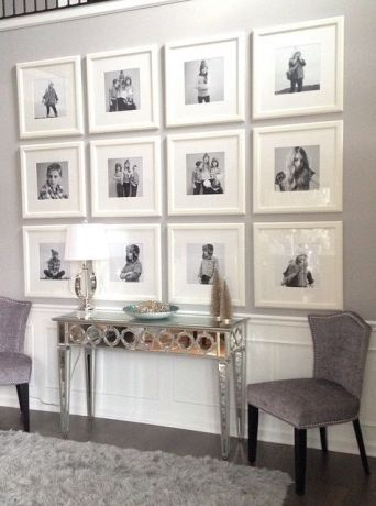 The Great Frame Debate | Photo arrangement, Gallery wall and Walls