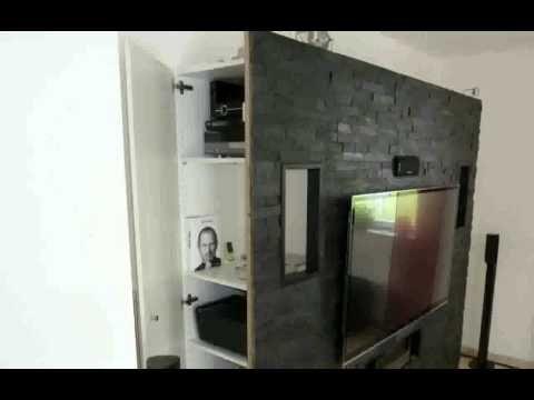 deko steinwand wohnzimmer schöne - youtube, Modern Dekoo - schone wohnzimmer deko