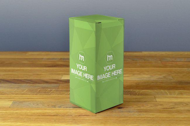 Download 3d Product Box Mockup Maker Mediamodifier Online Mockup Generator Box Template Box Mockup Card Templates Printable