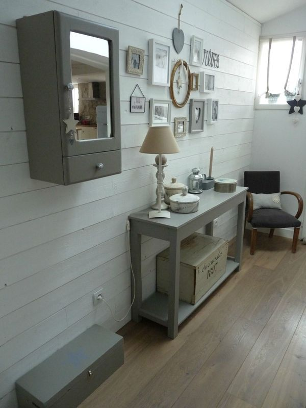 Hall d\'entrée... | maison deco | Pinterest | Consoles, Hall and Shabby