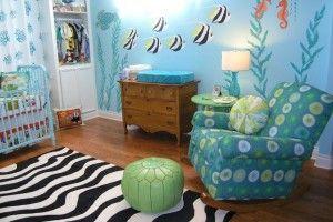 Baby nursery , Ocean Themed Nursery Ideas : ocean themed nursery ideas