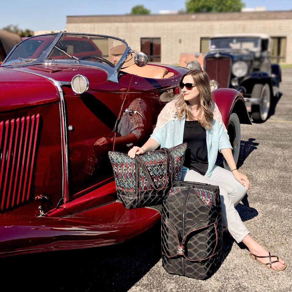Thanks To The Auburn Cord Duesenberg Club For Stopping By Cinda B For A Factory Tour Last Week We Enjoyed Gett Happy Travels Factory Tours Fashion Accessories