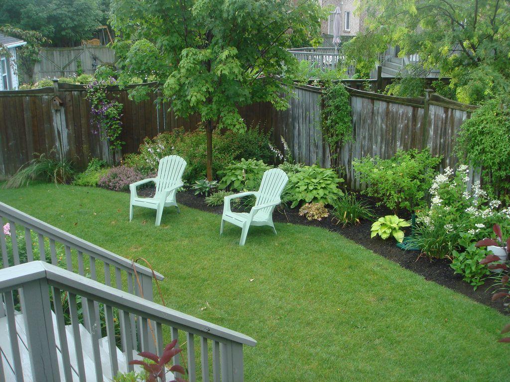 Side Yard July 2010 (With images) | Backyard plants ... on Backyard Landscaping Along Fence id=45514