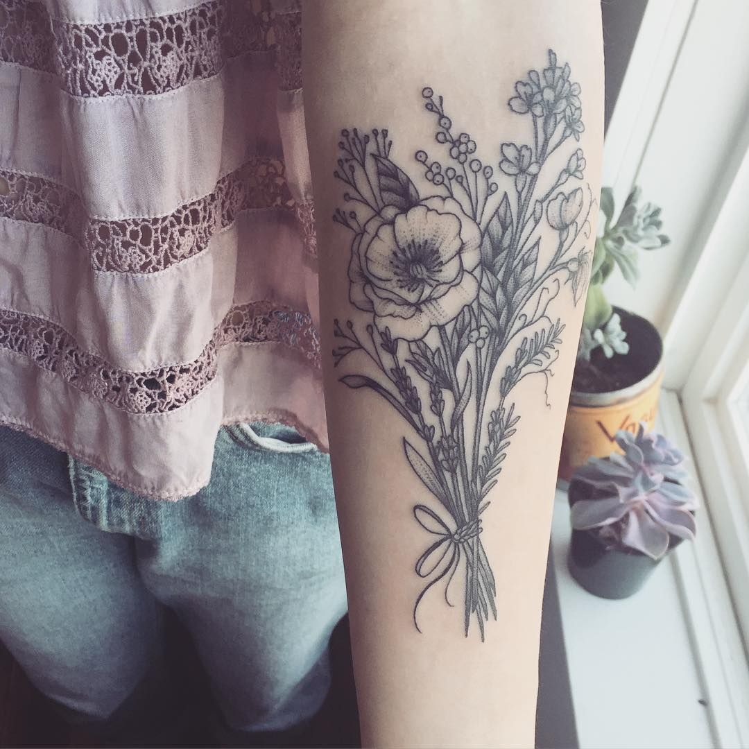 Pin by laura on tattoo pinterest wild flower bouquets flower
