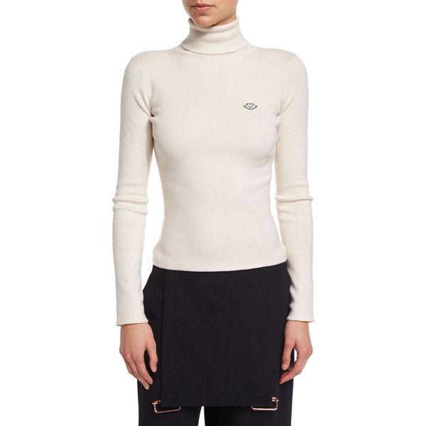 Chloé ribbed turtle neck jumper Outlet Free Shipping Quality For Sale Free Shipping Eastbay Cheap Price LxYLfDfYo