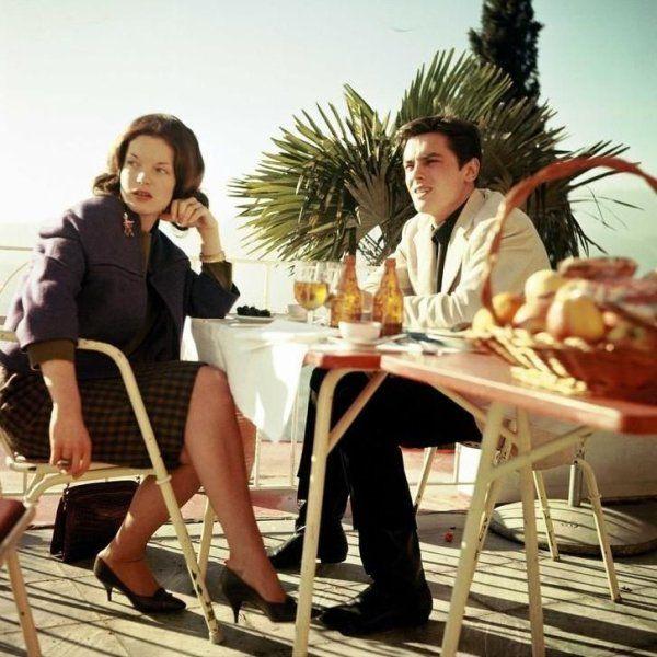 A História de Amor entre Alain Delon e Romy Schneider (com galeria de fotos) - Cinema Clássico