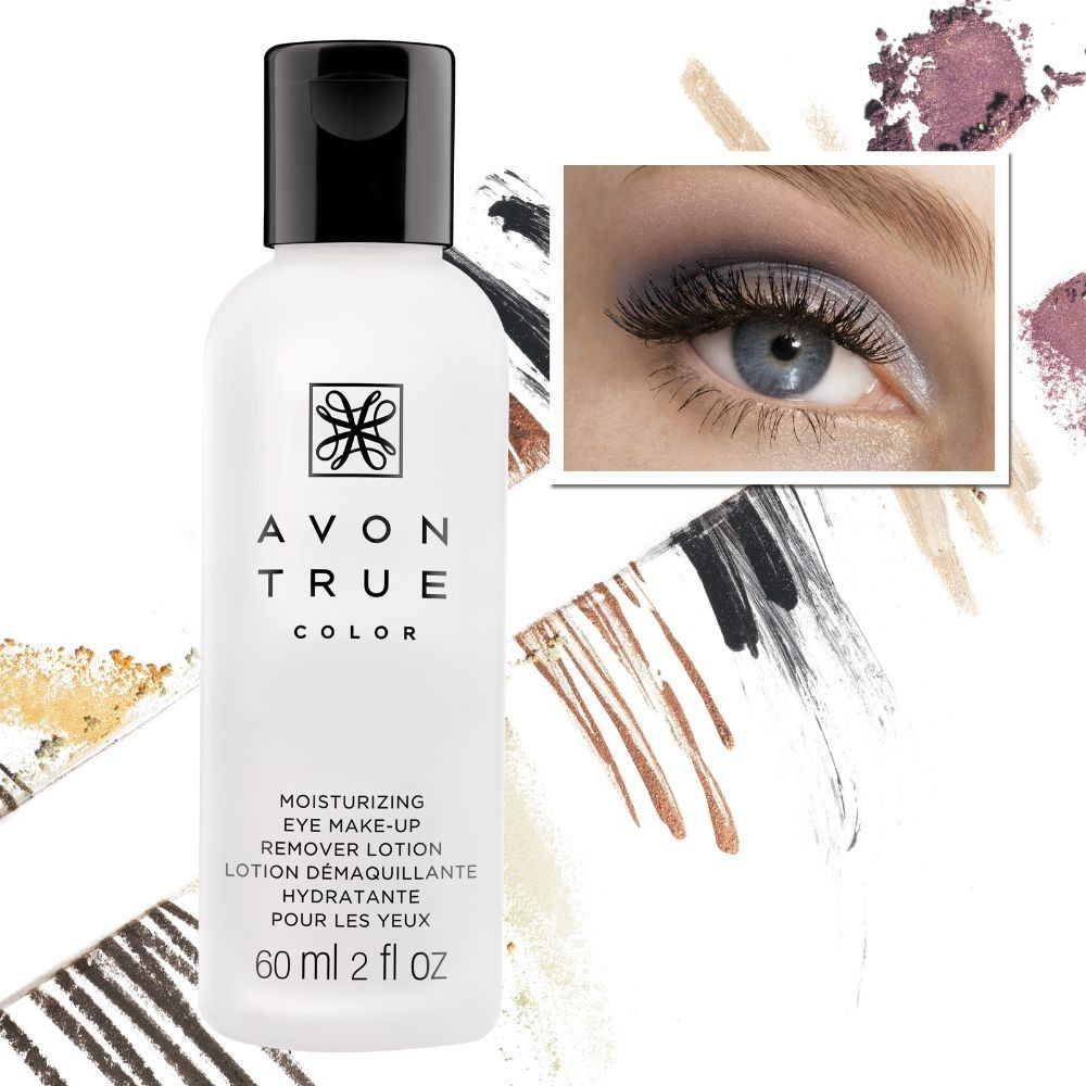 True Color Moisturizing Eye Makeup Remover Lotion gently