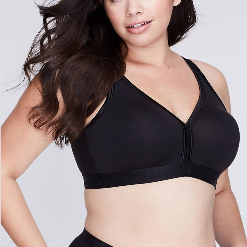 4d772adb3 Lane Bryant Cacique Unlined No-Wire Cooling Bra 40H  fashion  clothing   shoes  accessories  womensclothing  intimatessleep (ebay link)