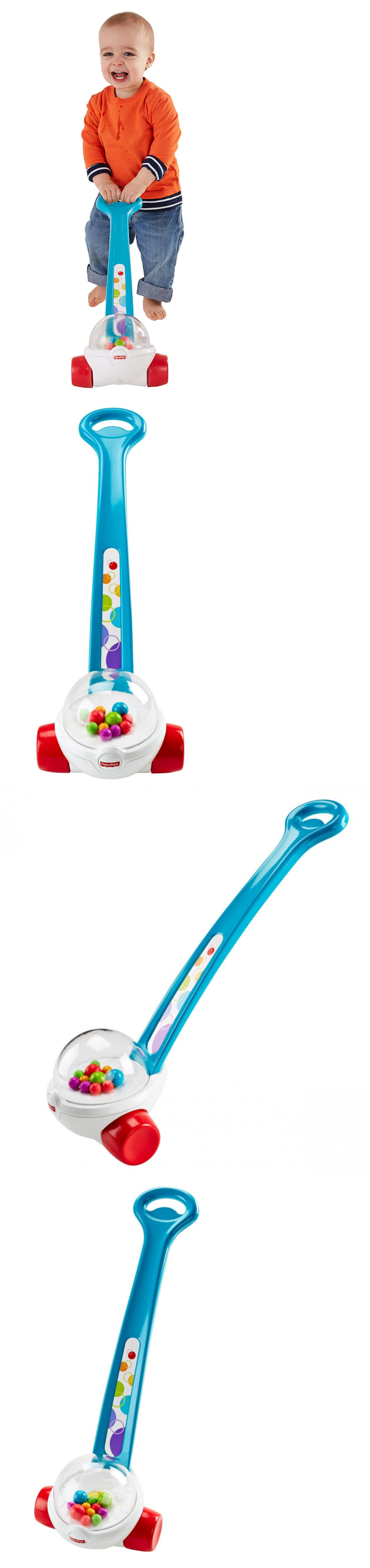 Other Fisher Price Pre 1963 2529 Baby Push Toy Corn Popper