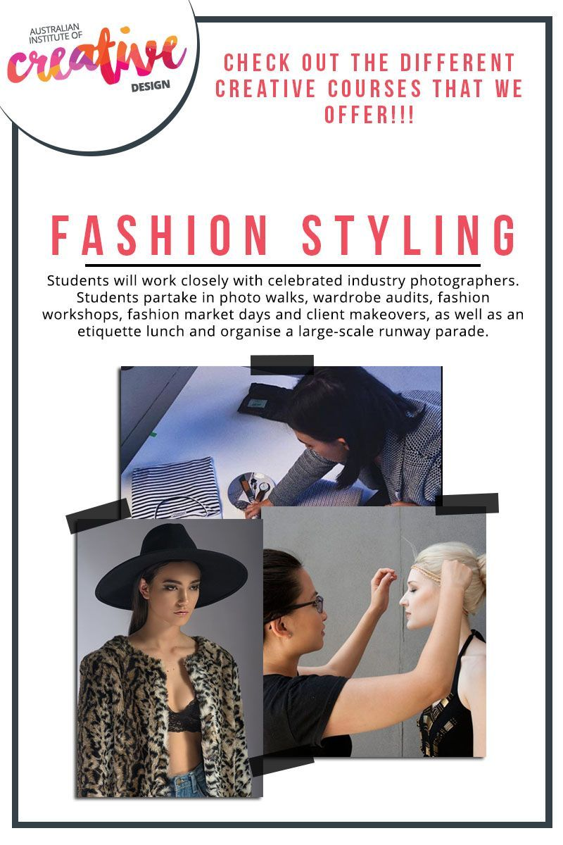 Fashion Styling is now a popularised and emerging career