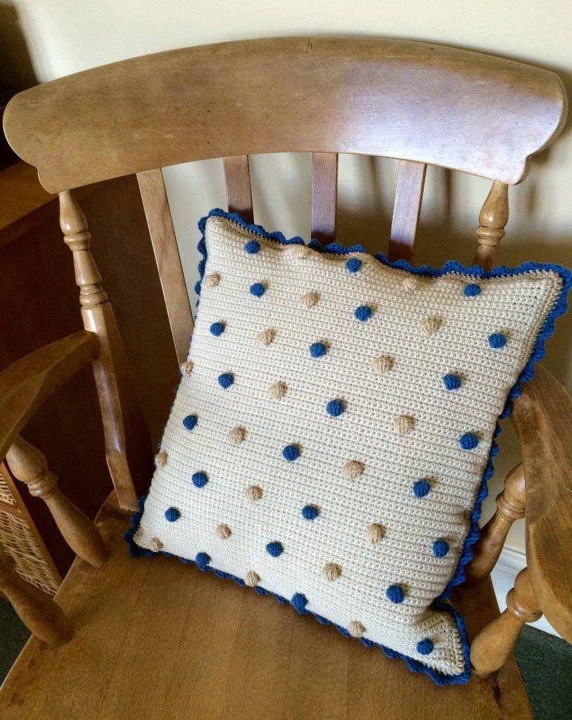 Crochet with Kate: Beautiful Bobble Cushion | Decken, Kissen und ...