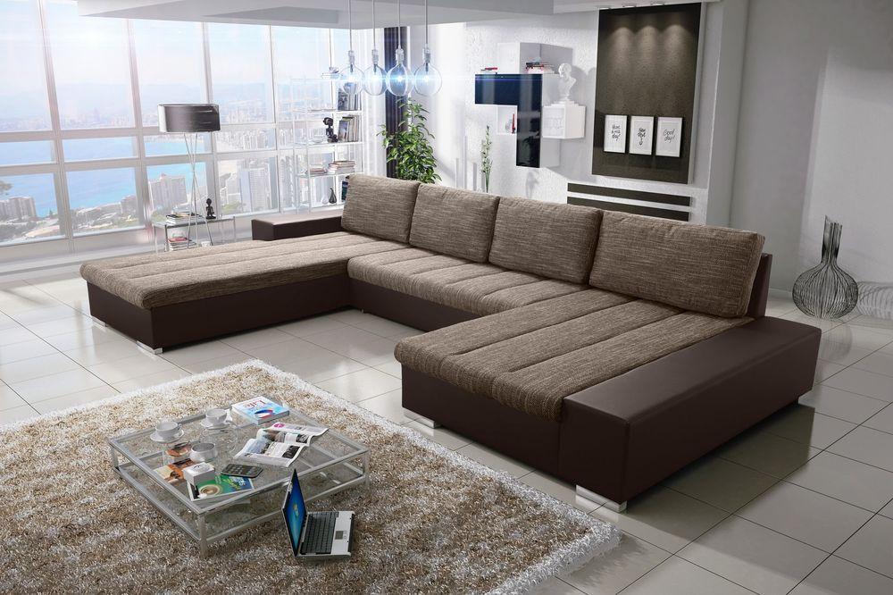 Details Zu Verona 8 U Sofa Couchgarnitur Couch Sofagarnitur U