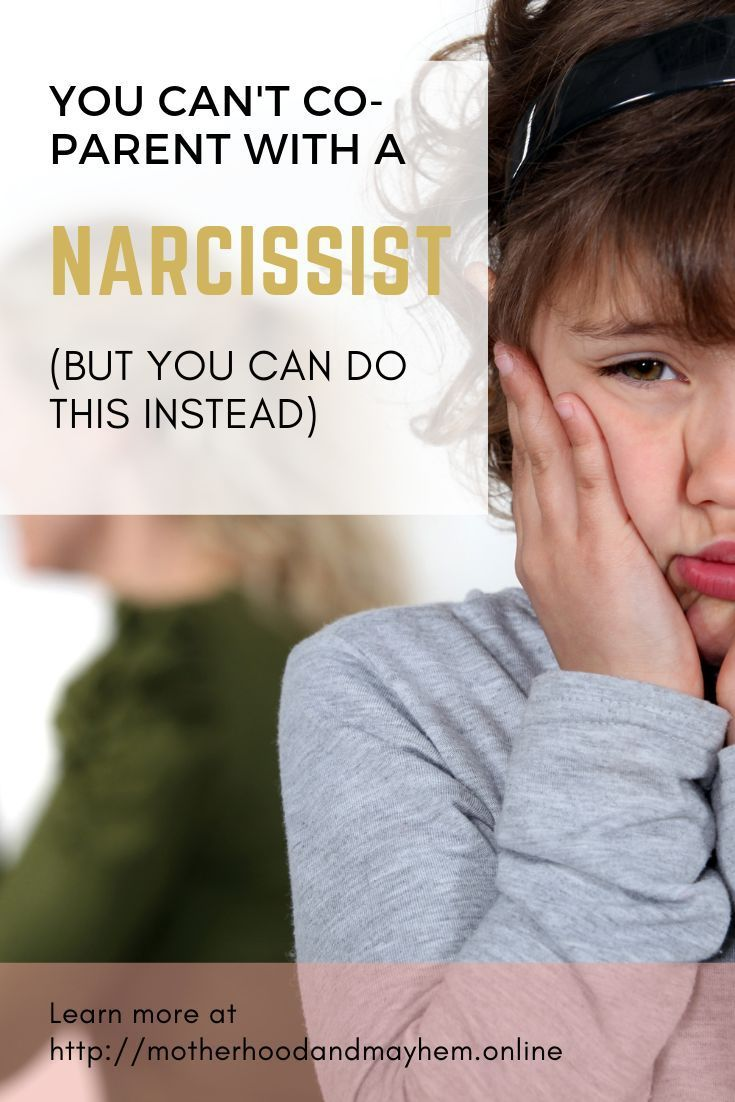 Photo of I've been there and done that. While co-parenting with a narcissistic ex may be …