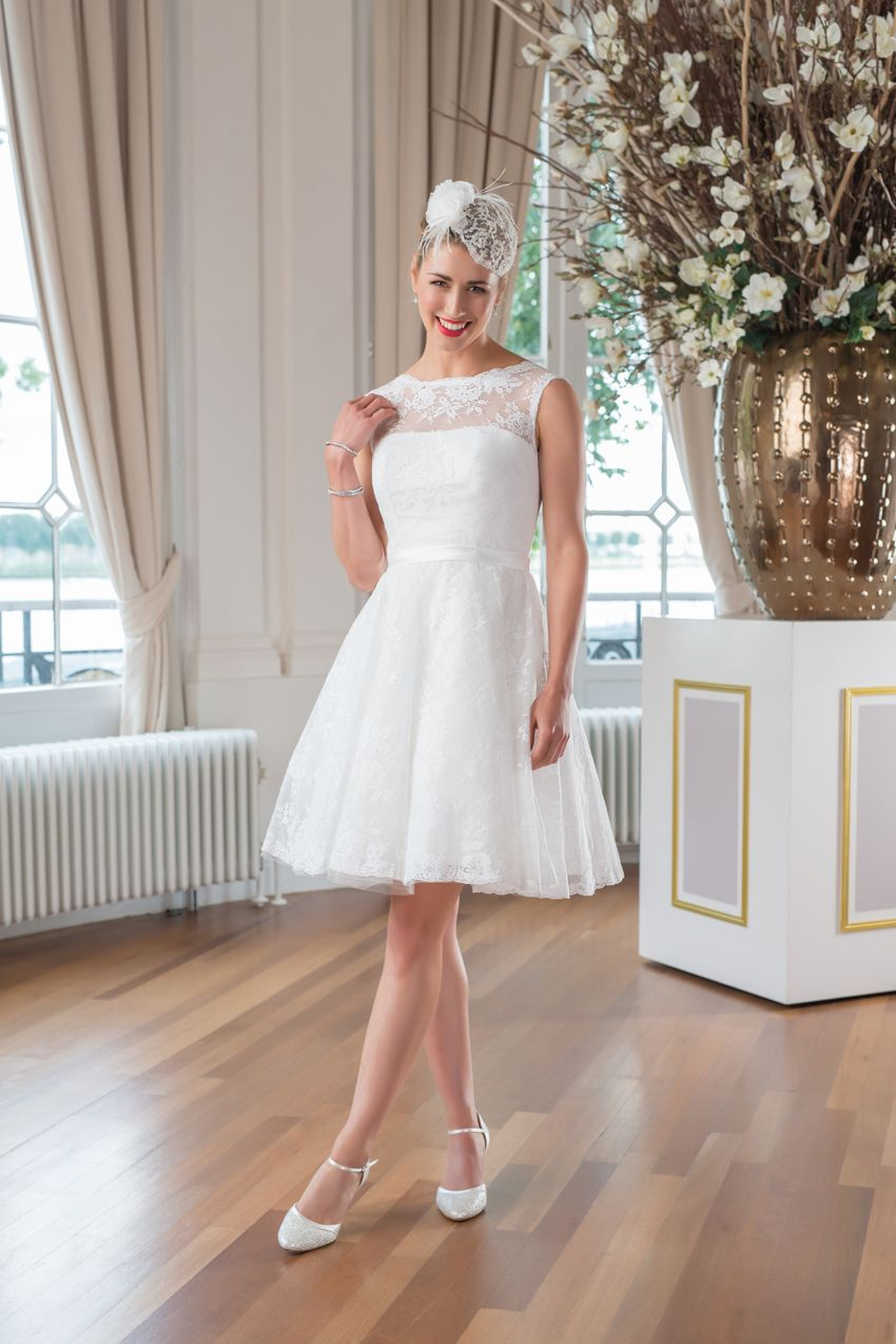 Rockabilly wedding dresses  WR from the Mylène Sophie bridal collection  bridal  Pinterest