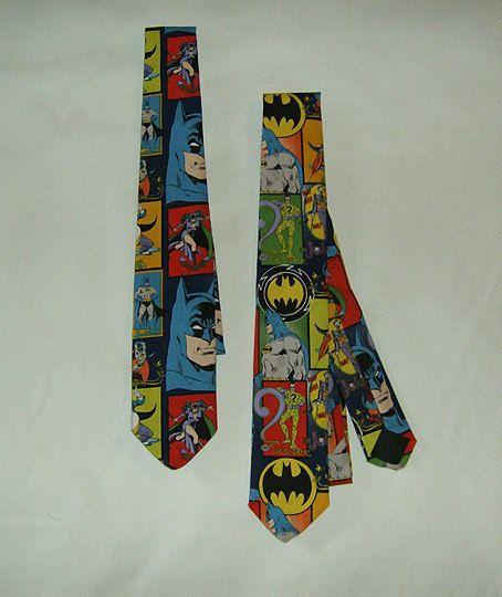 Nerdy Neckties - Batman pattern men's tie | Wedding ...