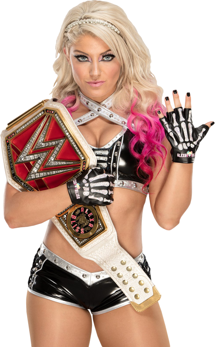 Alexa Bliss Raw Women S Champion Render 3 By Badluckshinska Wwe Smackdown Live Lucha Libre Leyendas