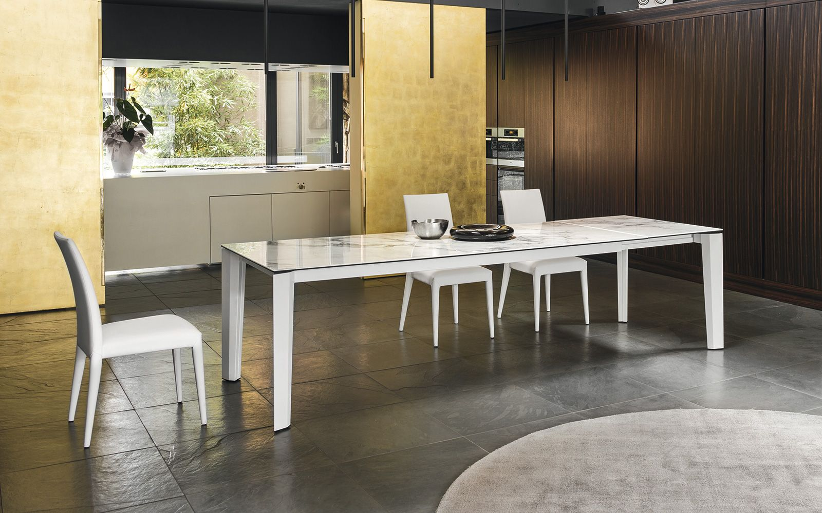 Tavolo Calligaris Delta vetro ceramica | Sedie moderne | Pinterest ...