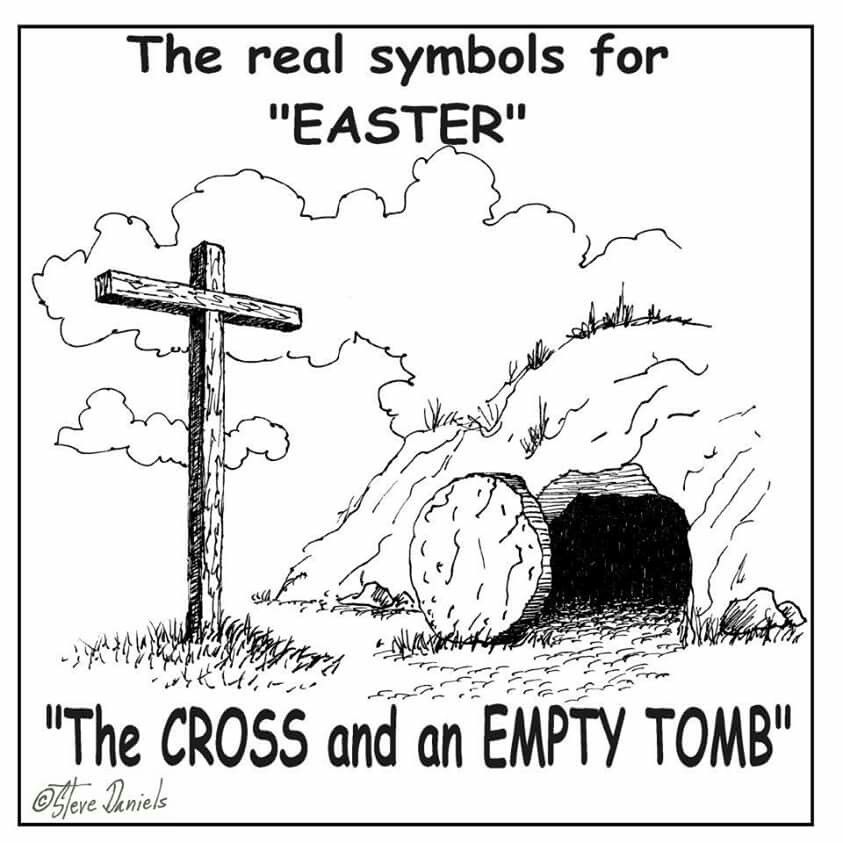 The Real Symbols For Easter The True Meaning Of Easter Pinterest