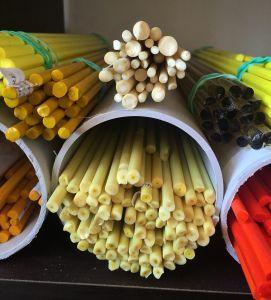 Alchemistress :: COE 104 Glass Testing :: Blog :: Vetrofond :: Banana Special Odd