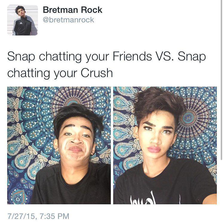 What Do You Meme Bretman Rock