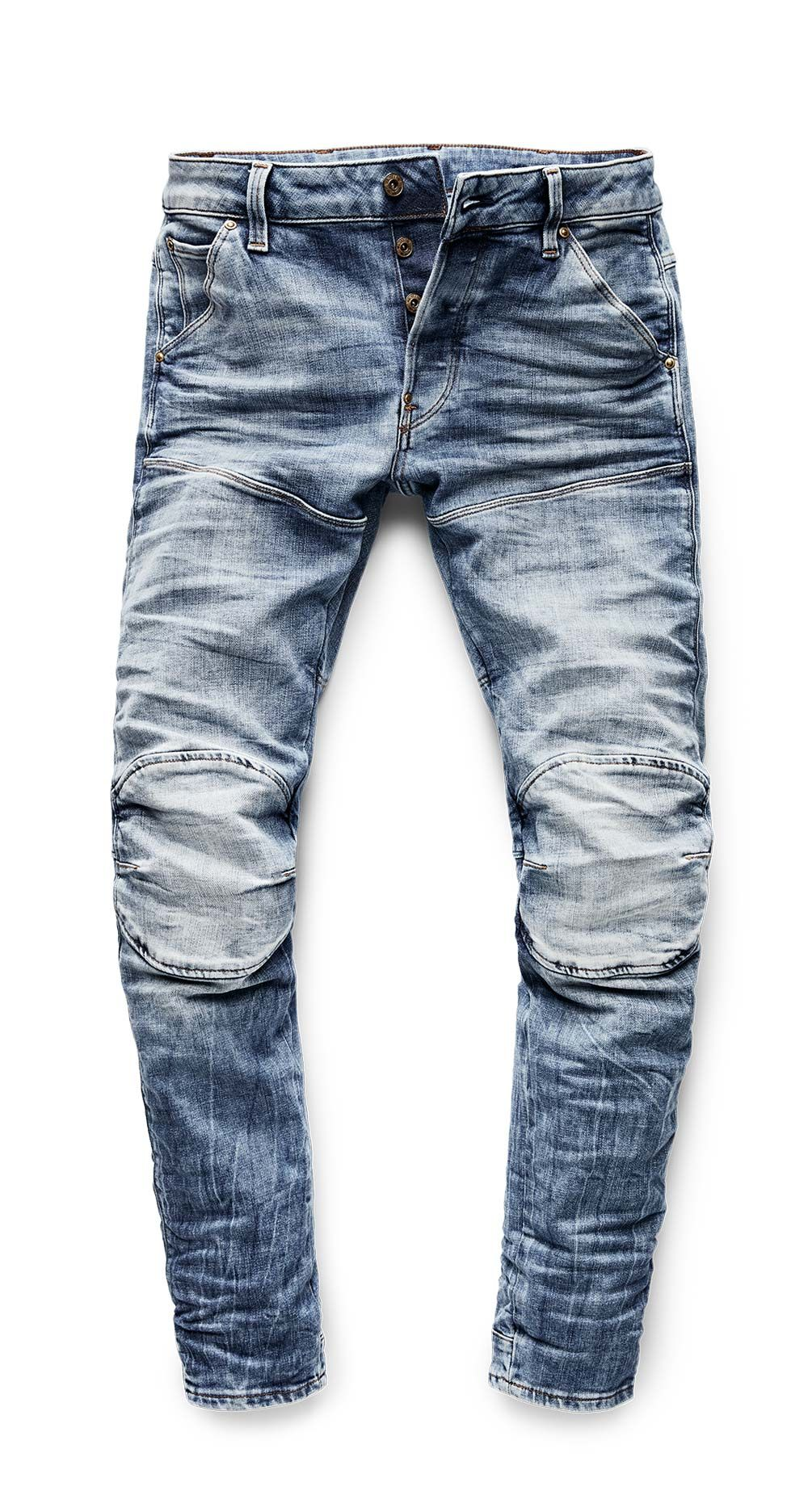 Experience the first ever 3D Denim: the G Star Elwood 5620
