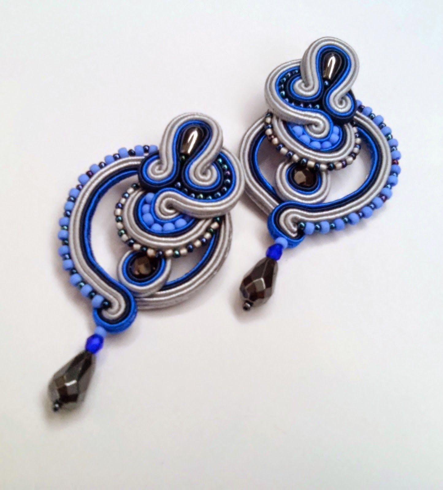 Maniko kolczyki sutasz winter night tworzenie biżuterii